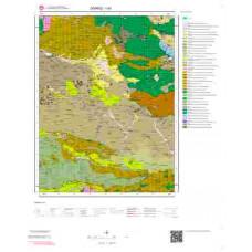 I 40 Paftası 1/100.000 ölçekli Jeoloji Haritası