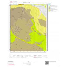 I40a3 Paftası 1/25.000 Ölçekli Vektör Jeoloji Haritası