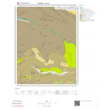I40a4 Paftası 1/25.000 Ölçekli Vektör Jeoloji Haritası