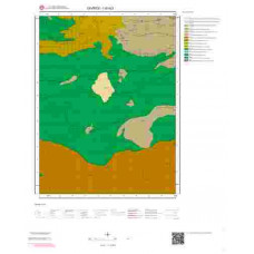 I 40-b3 Paftası 1/25.000 ölçekli Jeoloji Haritası