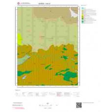 I40c3 Paftası 1/25.000 Ölçekli Vektör Jeoloji Haritası