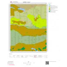 I 40-c4 Paftası 1/25.000 ölçekli Jeoloji Haritası