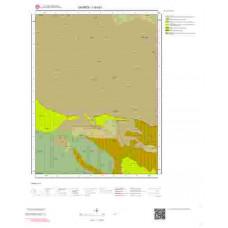 I40d1 Paftası 1/25.000 Ölçekli Vektör Jeoloji Haritası