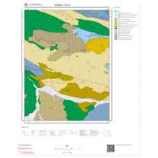 I41b1 Paftası 1/25.000 Ölçekli Vektör Jeoloji Haritası