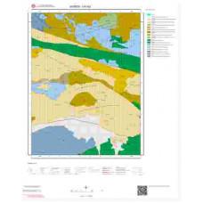 I41b2 Paftası 1/25.000 Ölçekli Vektör Jeoloji Haritası