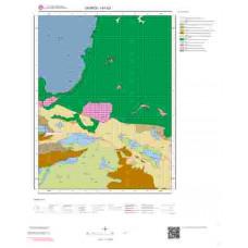 I41b3 Paftası 1/25.000 Ölçekli Vektör Jeoloji Haritası