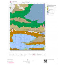 I41b4 Paftası 1/25.000 Ölçekli Vektör Jeoloji Haritası
