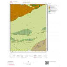 I41c1 Paftası 1/25.000 Ölçekli Vektör Jeoloji Haritası