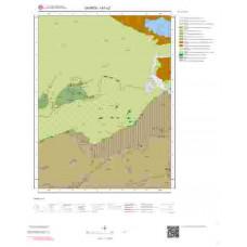 I41c2 Paftası 1/25.000 Ölçekli Vektör Jeoloji Haritası