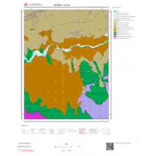 I41c3 Paftası 1/25.000 Ölçekli Vektör Jeoloji Haritası