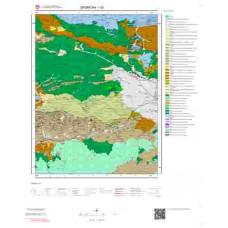 I42 Paftası 1/100.000 Ölçekli Vektör Jeoloji Haritası