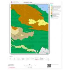 I42a1 Paftası 1/25.000 Ölçekli Vektör Jeoloji Haritası