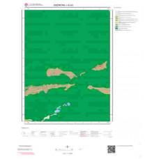 I42a3 Paftası 1/25.000 Ölçekli Vektör Jeoloji Haritası