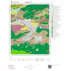 I44 Paftası 1/100.000 Ölçekli Vektör Jeoloji Haritası