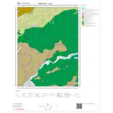 I44a2 Paftası 1/25.000 Ölçekli Vektör Jeoloji Haritası