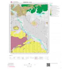I44a3 Paftası 1/25.000 Ölçekli Vektör Jeoloji Haritası