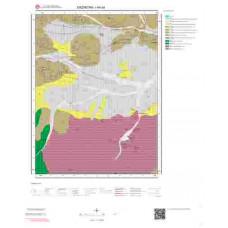 I44a4 Paftası 1/25.000 Ölçekli Vektör Jeoloji Haritası