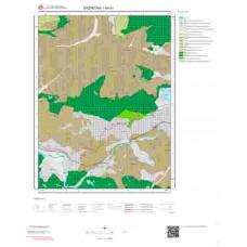 I44b3 Paftası 1/25.000 Ölçekli Vektör Jeoloji Haritası