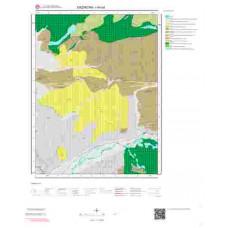 I44b4 Paftası 1/25.000 Ölçekli Vektör Jeoloji Haritası