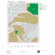 I44c1 Paftası 1/25.000 Ölçekli Vektör Jeoloji Haritası