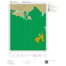 I44c3 Paftası 1/25.000 Ölçekli Vektör Jeoloji Haritası