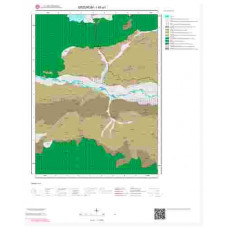 I45a1 Paftası 1/25.000 Ölçekli Vektör Jeoloji Haritası