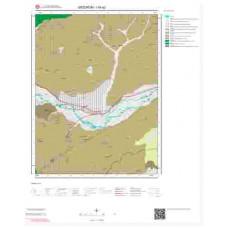 I45a2 Paftası 1/25.000 Ölçekli Vektör Jeoloji Haritası