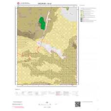 I45a3 Paftası 1/25.000 Ölçekli Vektör Jeoloji Haritası