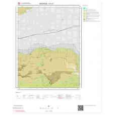 I47a1 Paftası 1/25.000 Ölçekli Vektör Jeoloji Haritası
