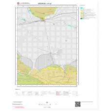 I47a2 Paftası 1/25.000 Ölçekli Vektör Jeoloji Haritası
