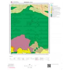 I47a3 Paftası 1/25.000 Ölçekli Vektör Jeoloji Haritası