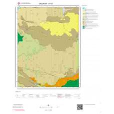 I47b3 Paftası 1/25.000 Ölçekli Vektör Jeoloji Haritası