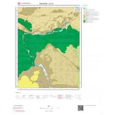 I47b4 Paftası 1/25.000 Ölçekli Vektör Jeoloji Haritası