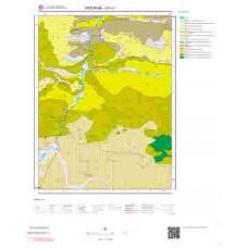 I47c1 Paftası 1/25.000 Ölçekli Vektör Jeoloji Haritası