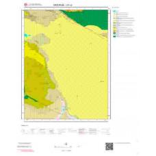 I 47-c2 Paftası 1/25.000 ölçekli Jeoloji Haritası