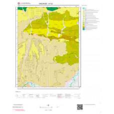 I47d2 Paftası 1/25.000 Ölçekli Vektör Jeoloji Haritası