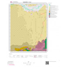 I47d3 Paftası 1/25.000 Ölçekli Vektör Jeoloji Haritası
