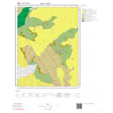 I50a3 Paftası 1/25.000 Ölçekli Vektör Jeoloji Haritası