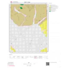 I50a4 Paftası 1/25.000 Ölçekli Vektör Jeoloji Haritası