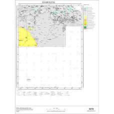 I52 Paftası 1/100.000 Ölçekli Vektör Jeoloji Haritası