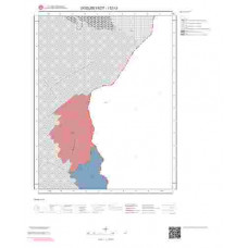 I52c3 Paftası 1/25.000 Ölçekli Vektör Jeoloji Haritası