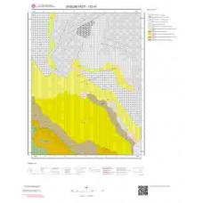 I52d3 Paftası 1/25.000 Ölçekli Vektör Jeoloji Haritası