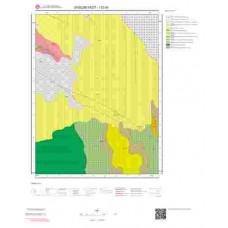 I52d4 Paftası 1/25.000 Ölçekli Vektör Jeoloji Haritası