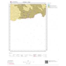 J16a2 Paftası 1/25.000 Ölçekli Vektör Jeoloji Haritası