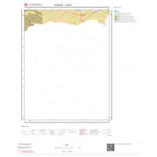 J16b1 Paftası 1/25.000 Ölçekli Vektör Jeoloji Haritası