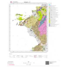 J17 Paftası 1/100.000 Ölçekli Vektör Jeoloji Haritası