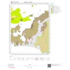 J17a3 Paftası 1/25.000 Ölçekli Vektör Jeoloji Haritası