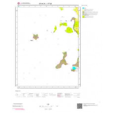 J17a4 Paftası 1/25.000 Ölçekli Vektör Jeoloji Haritası