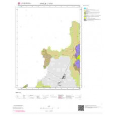 J17b1 Paftası 1/25.000 Ölçekli Vektör Jeoloji Haritası