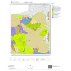 J17b2 Paftası 1/25.000 Ölçekli Vektör Jeoloji Haritası